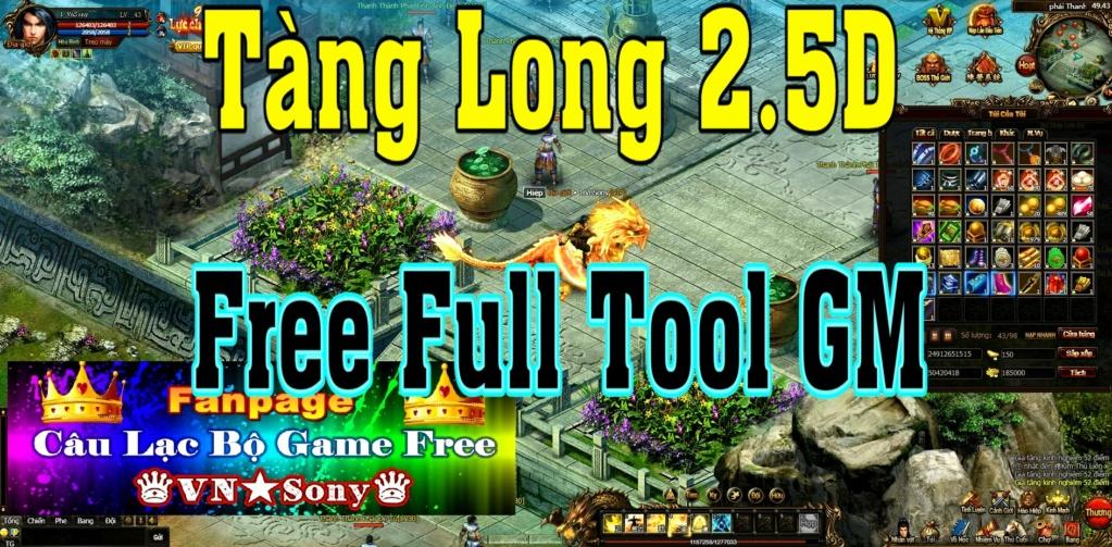 [WebGame] Tàng Long 2.5D VH - Free Full Tool GM Rv116