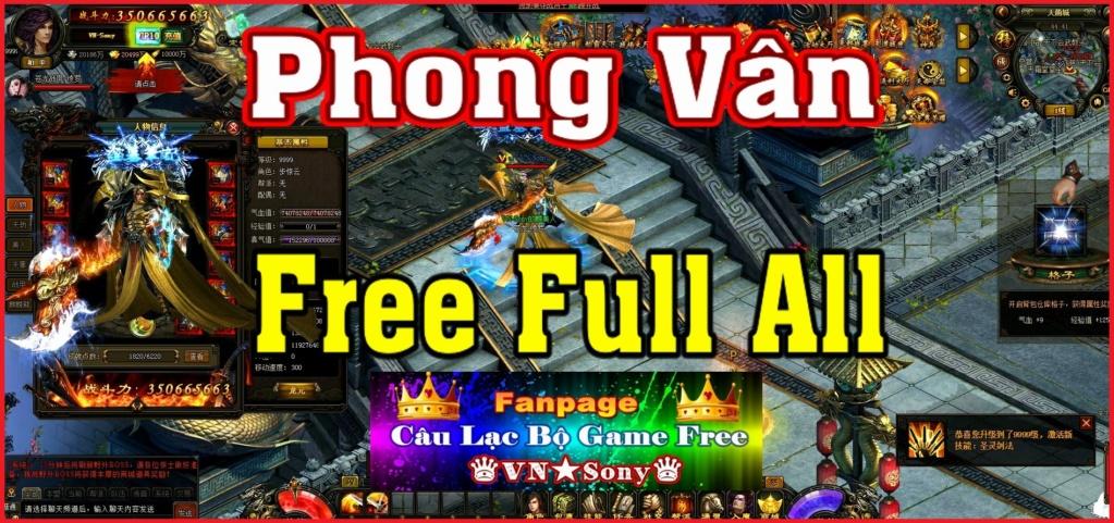 [WebGame] Phong Vân China - Free Full All - Lực Chiến Ảo Rv120