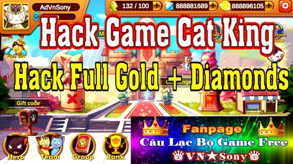 [MobileOffline] Cat King - Free Full All - Hack Mod Full Diamond + Gold Rv19