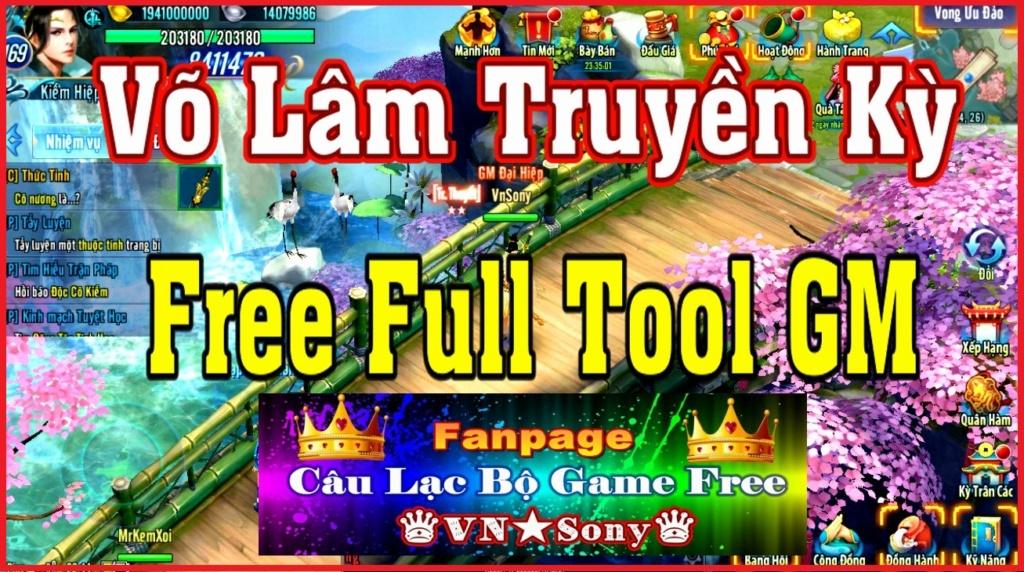 [MobileGame] Võ Lâm Truyền Kỳ VH - Free Full Tool GM Rv21