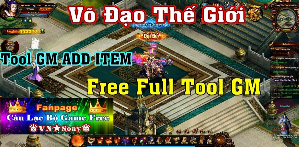 [WebGame] Võ Đạo Thế Giới VH - Free Full Tool GM Rv216