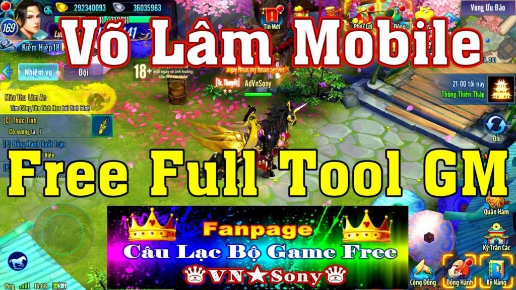 [MobileGame] Võ Lâm Truyền Kỳ VH - Free Full Tool GM Rv24