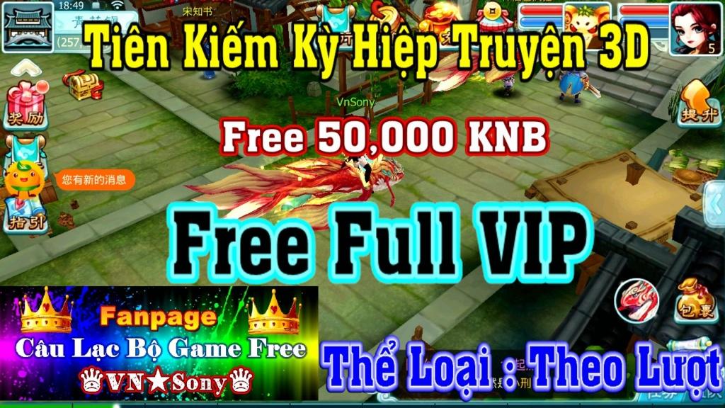 [MobileGame] Tiên Kiếm Kỳ Hiệp Truyện 3D Free Rv312