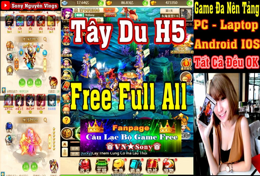 [H5-Game Lậu] Tây Du H5 - Free Full All Rv314