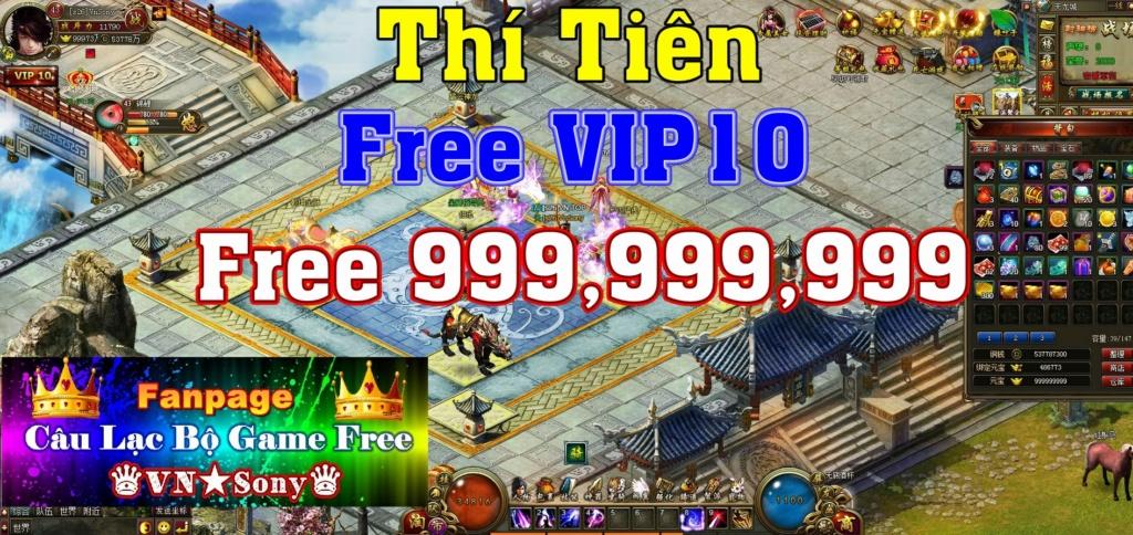 [WebGame] Thí Tiên Free VIP10 + 999,999,999 KNB Rv411
