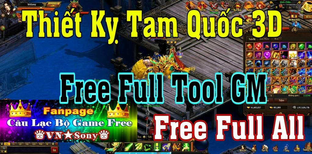 [WebGame] Thiết Kỵ Tam Quốc VH - Free Full Tool GM - Free Full All Rv414