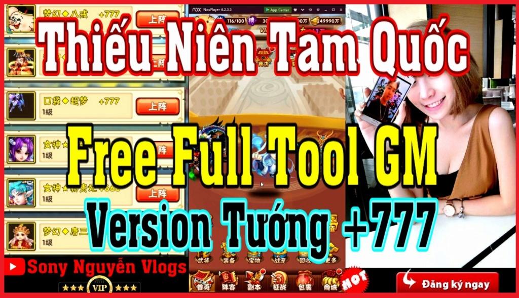 [MobileGame] Thiếu Niên Tam Quốc - Free Full Tool GM Rv516