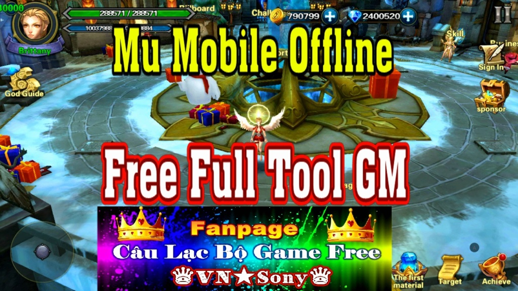 [MobileGame] Mu Mobile Offline - Free Full Tool GM Rv613