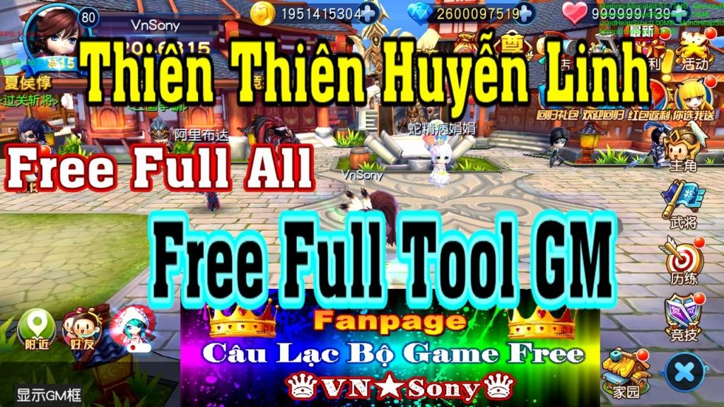[MobileGame] Thiên Thiên Huyễn Linh - Free Full Tool GM  Rv714