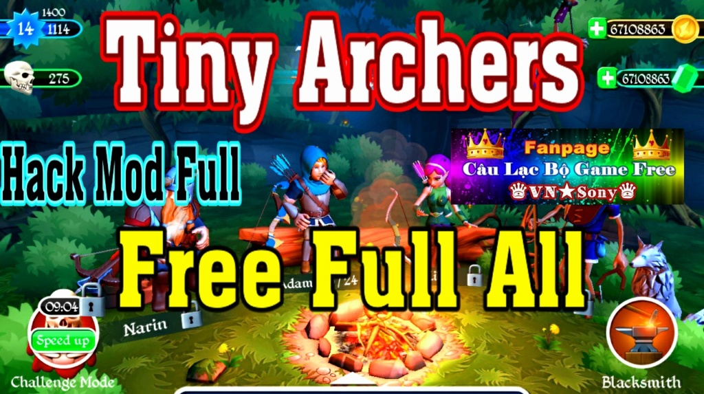 [Mobile Offline] Tiny Archers - Free Full All Rv715
