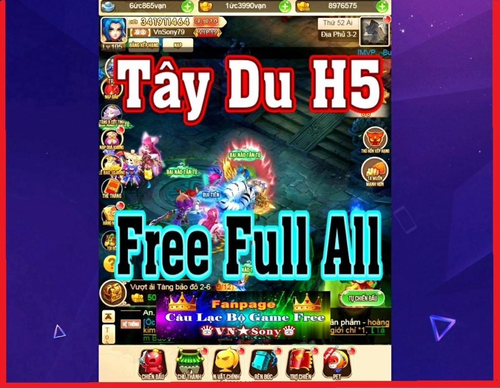 [H5-Game] Tây Du H5 VH - Free Full All  Rv914