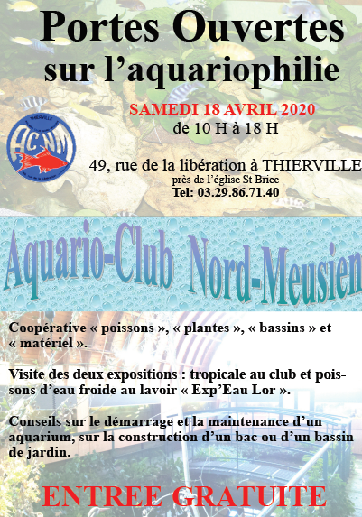 l'Aquario-Club Nord-Meusien (Verdun) Affich10