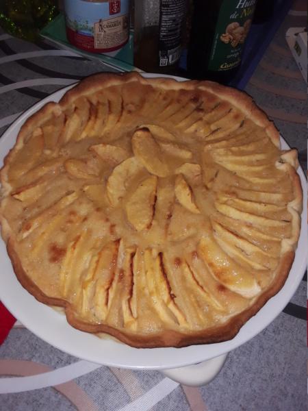 Tarte aux Pommes Normande 20200610