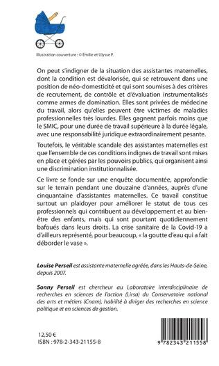 LE SCANDALE DES ASSISTANTES MATERNELLES Louise et  Sonny PERSEIL Livre_11