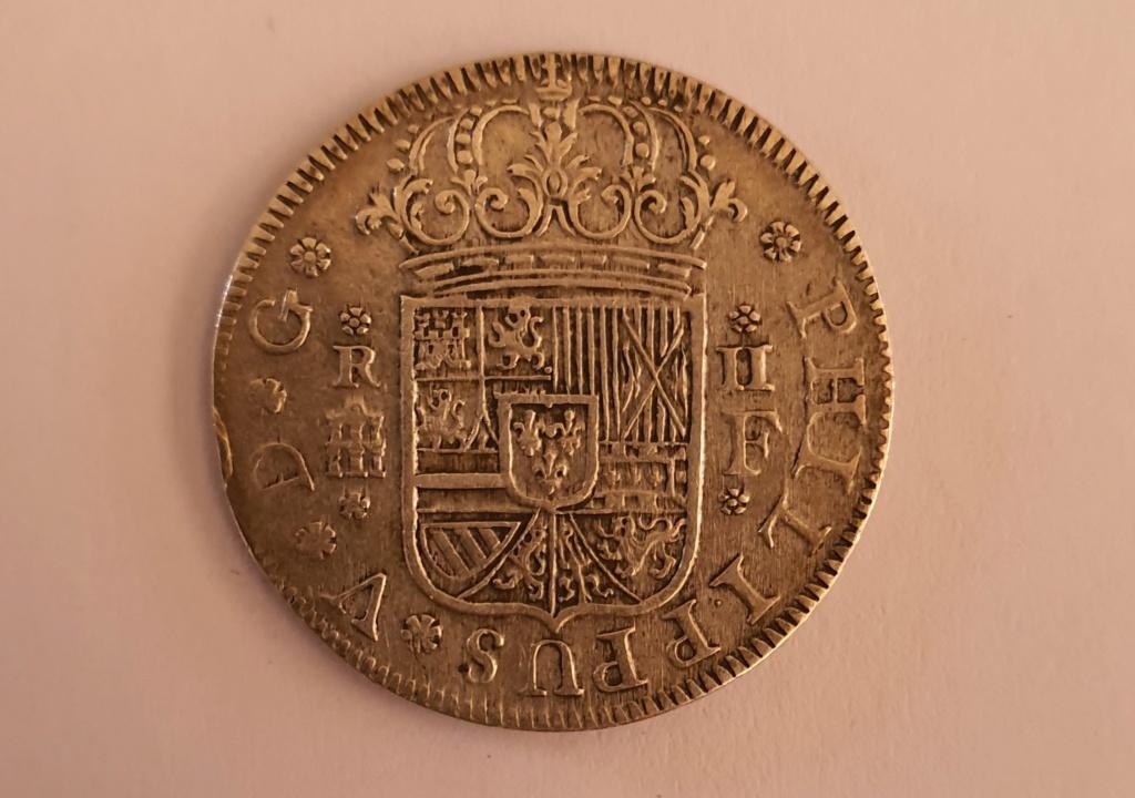 2 Reales Felipe V Segovia 1724 ¿Falsa?  20200210