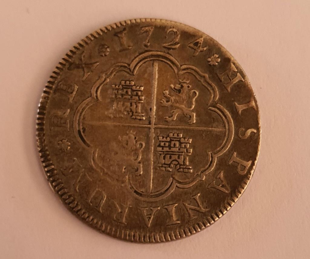 2 Reales Felipe V Segovia 1724 ¿Falsa?  20200212