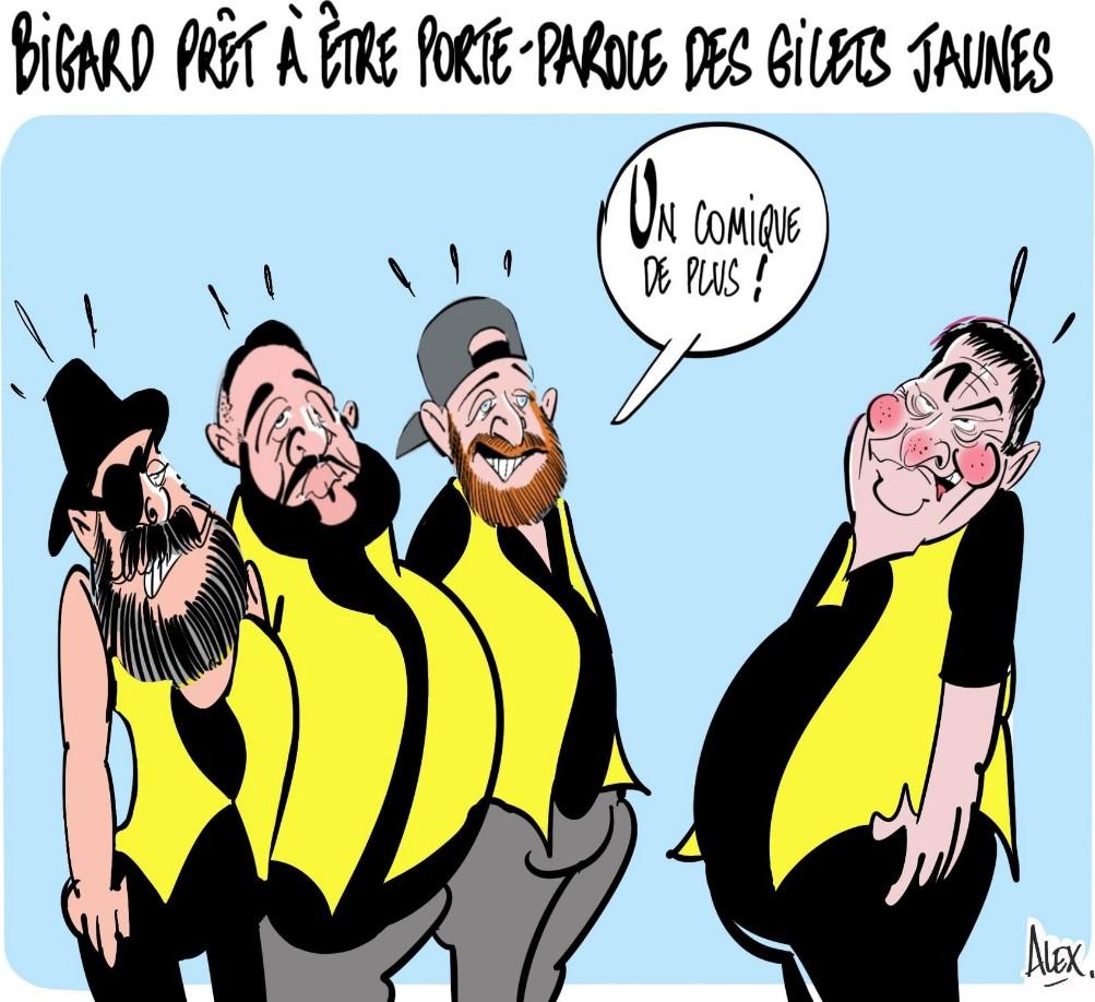 pour Dati, ce sont les Français des «ronds-points» qui tiennent «le pays à bout de bras»  En savoir  Bigard13
