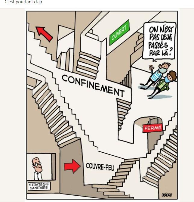 Attestation de déplacement dérogatoire  Confin11