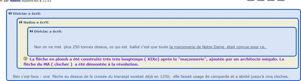 Notre Dame incendiée: la faute à Macron. - Page 6 Fleche10