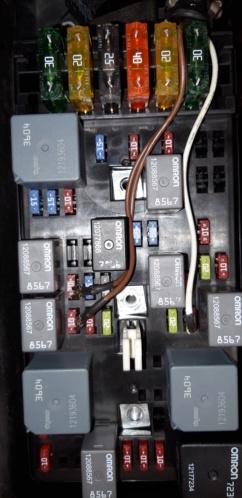 Démontage phares et montage d'un nouveau combiné xénon/LED 20190412