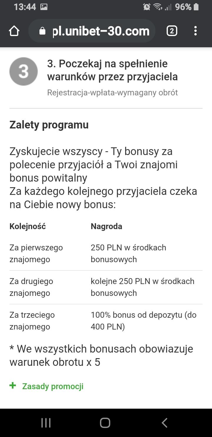 Unibet Kasyno darmowe bonusy - Page 34 Screen10