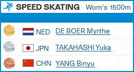 Speed Skating  1154