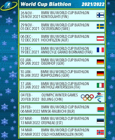 Биатлон. WORLD CUP сезон 2021-2022 1171110