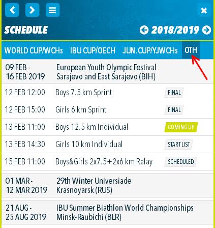 European Olympic Youth Festival 2019 134