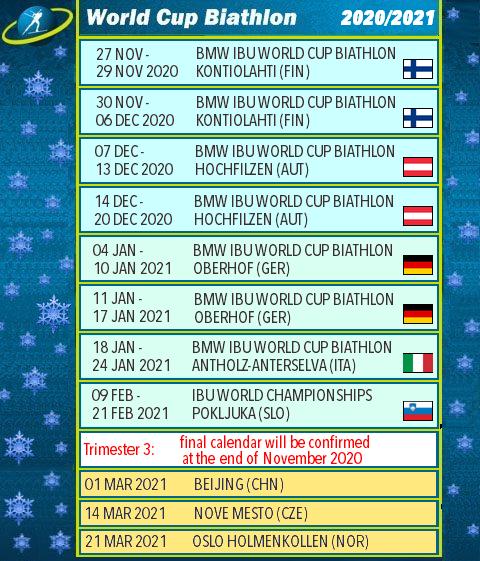 Биатлон. WORLD CUP сезон 2020-2021 8_ua10
