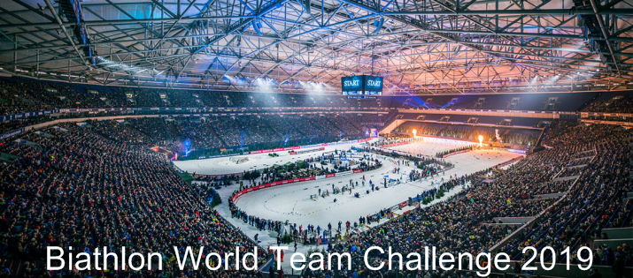 JOKA Biathlon World Team Challenge auf Schalke Ou10