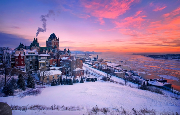 Заокеанское Турне - Québec, Minneapolis og Canmore Quebec10