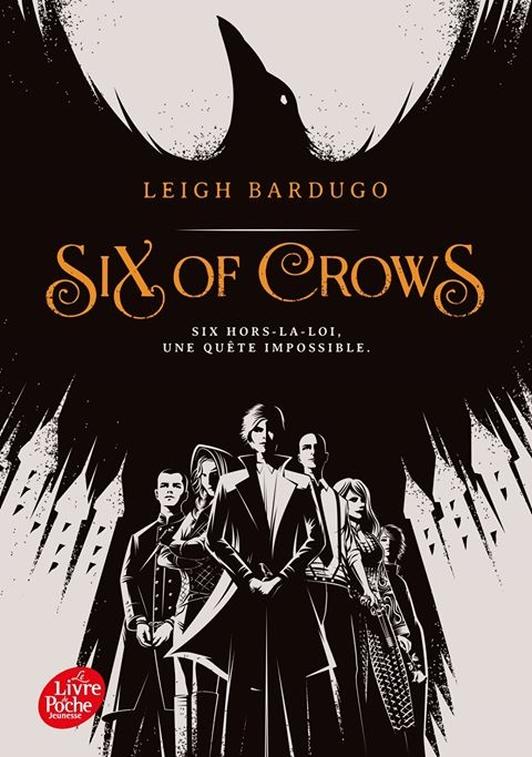Six of Crows de Leigh Bardugo Couv2511