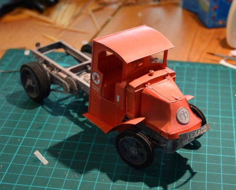 """Fertig Tank Truck """"Bulldog"""" von Modelik verkleinert auf 1:33 gebaut von Kubi Dsc_0015"""