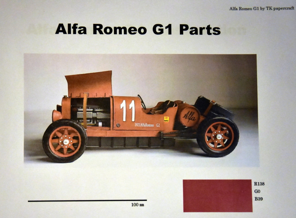 Alfa Romeo G1 von TK Papercraft geb von Kubi Dsc_1705