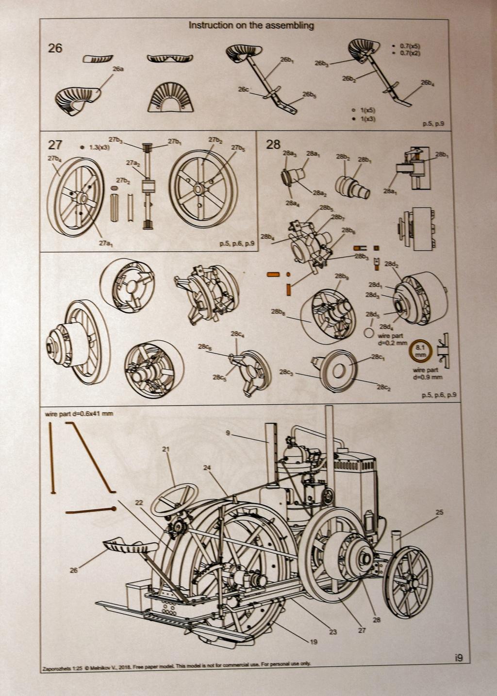Traktor Zaporozhets, MBA cardmodel, 1:25 geb von Kubi Dsc_2110