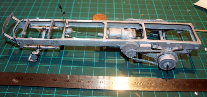 """Fertig Tank Truck """"Bulldog"""" von Modelik verkleinert auf 1:33 gebaut von Kubi P1016633"""