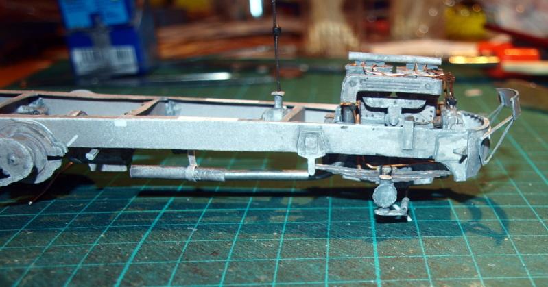 """Fertig Tank Truck """"Bulldog"""" von Modelik verkleinert auf 1:33 gebaut von Kubi P1016647"""