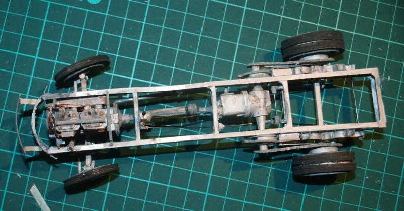 """Fertig Tank Truck """"Bulldog"""" von Modelik verkleinert auf 1:33 gebaut von Kubi P1016713"""