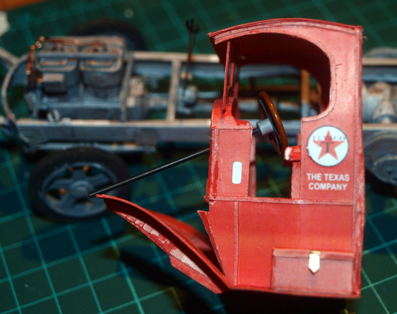 """Fertig Tank Truck """"Bulldog"""" von Modelik verkleinert auf 1:33 gebaut von Kubi P1016722"""
