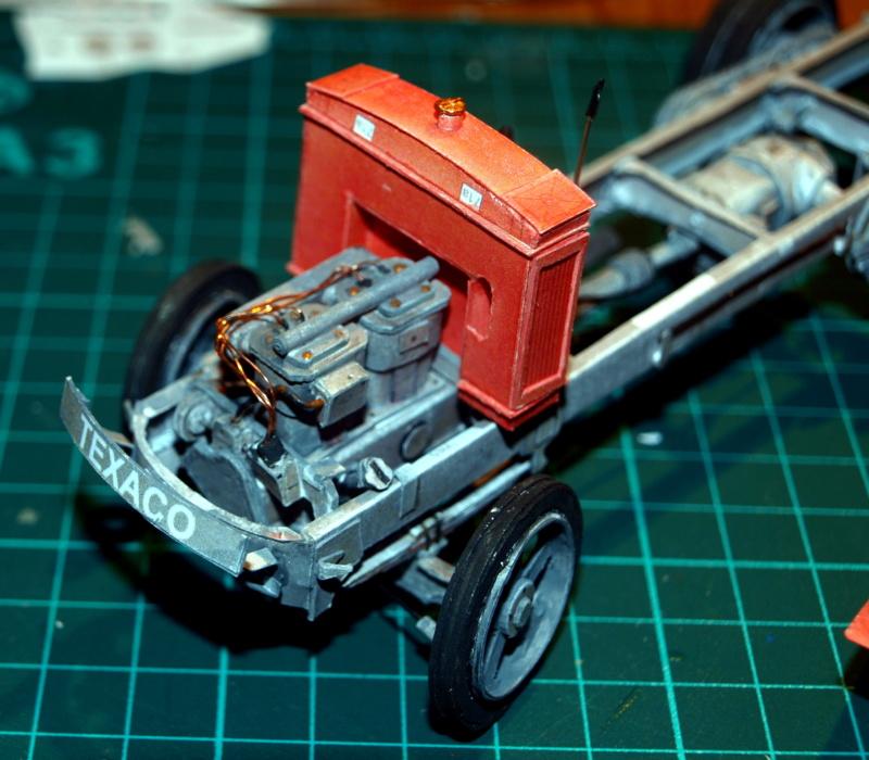 """Fertig Tank Truck """"Bulldog"""" von Modelik verkleinert auf 1:33 gebaut von Kubi P1016723"""