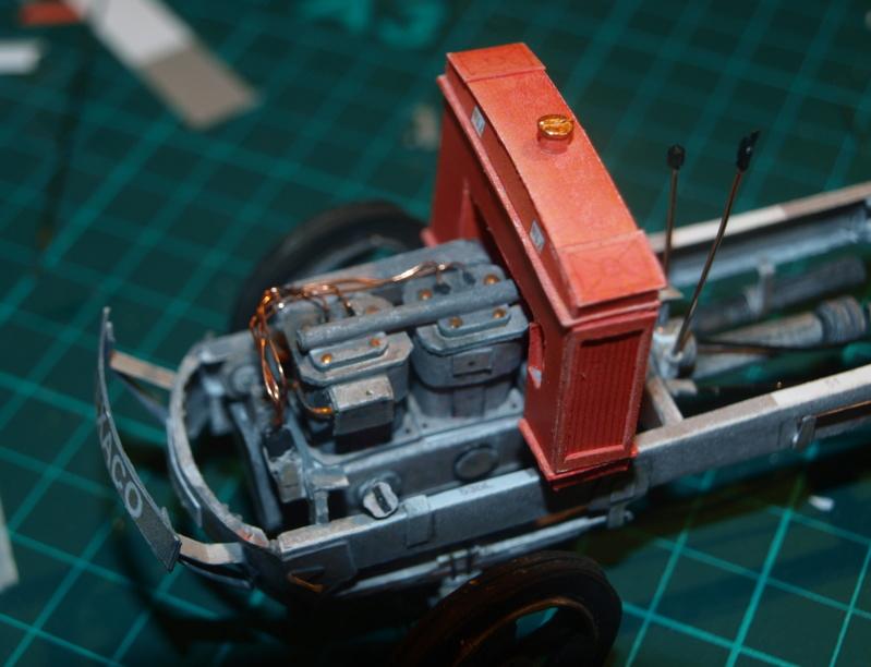 """Fertig Tank Truck """"Bulldog"""" von Modelik verkleinert auf 1:33 gebaut von Kubi P1016724"""