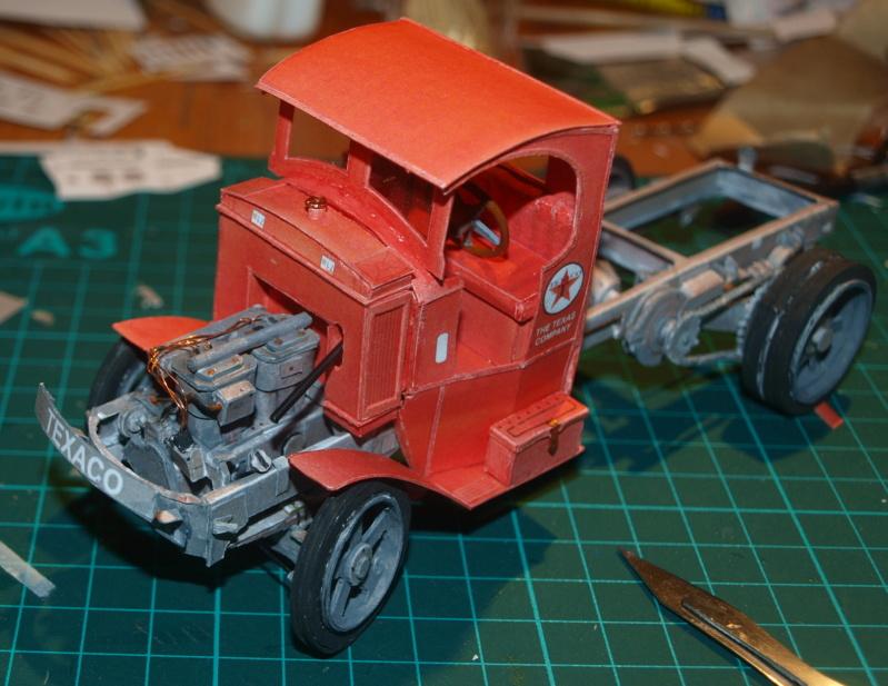 """Fertig Tank Truck """"Bulldog"""" von Modelik verkleinert auf 1:33 gebaut von Kubi P1016725"""