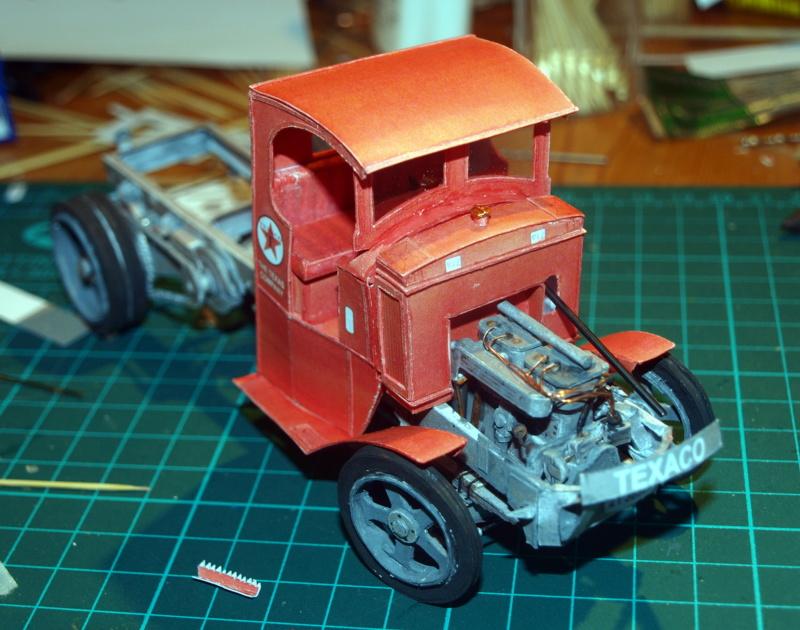 """Fertig Tank Truck """"Bulldog"""" von Modelik verkleinert auf 1:33 gebaut von Kubi P1016726"""