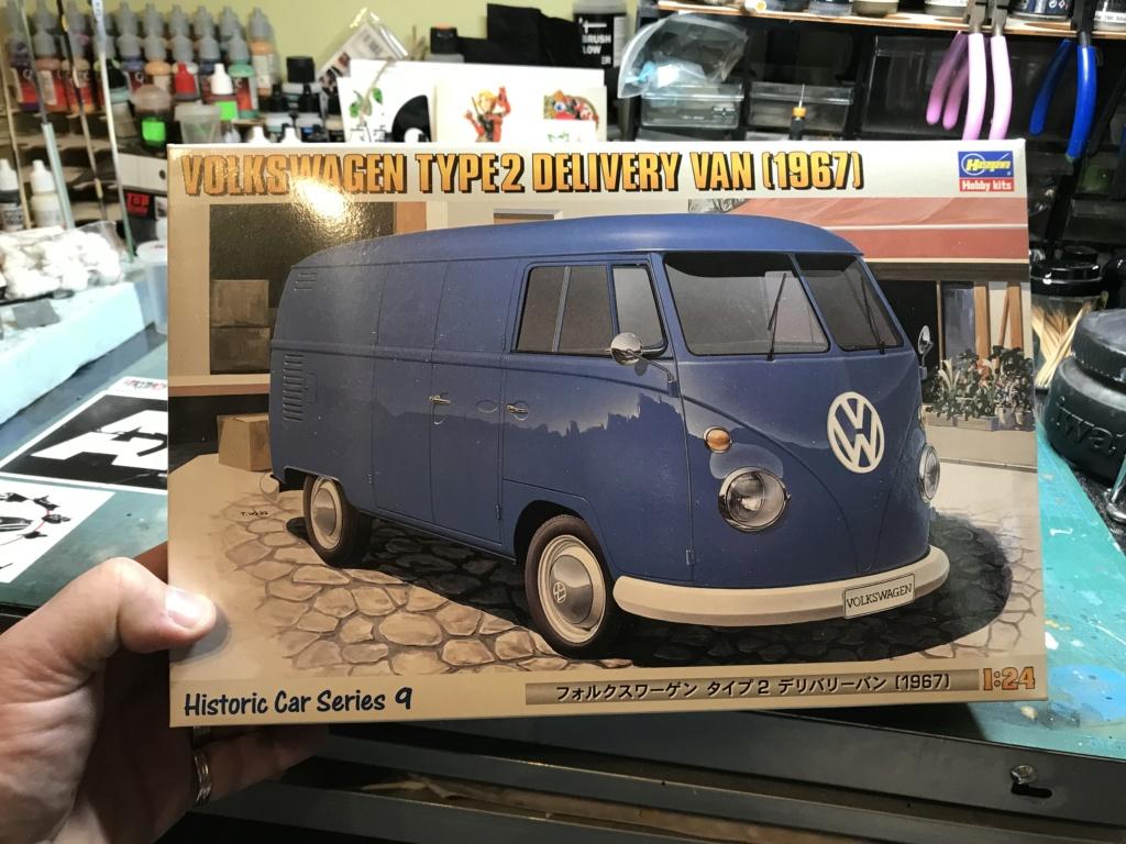 volkswagen delivery van 1967 hasegawa 1/24  0111