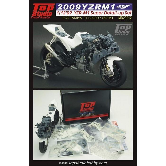 tamiya 1/12 yzr-m1 2009 tech3 monster 112_2010