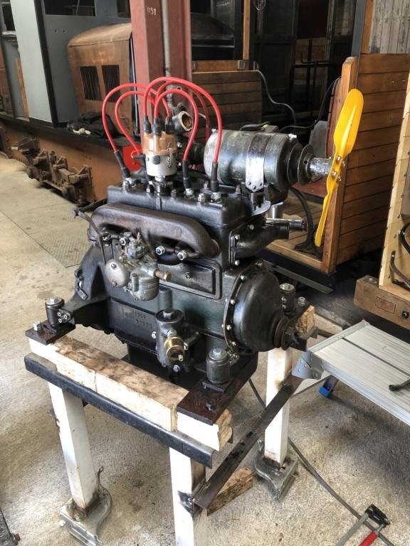 Locotracteur motorisé par un bloc moteur/boîte 201 Peugeot - Page 4 52a5c910