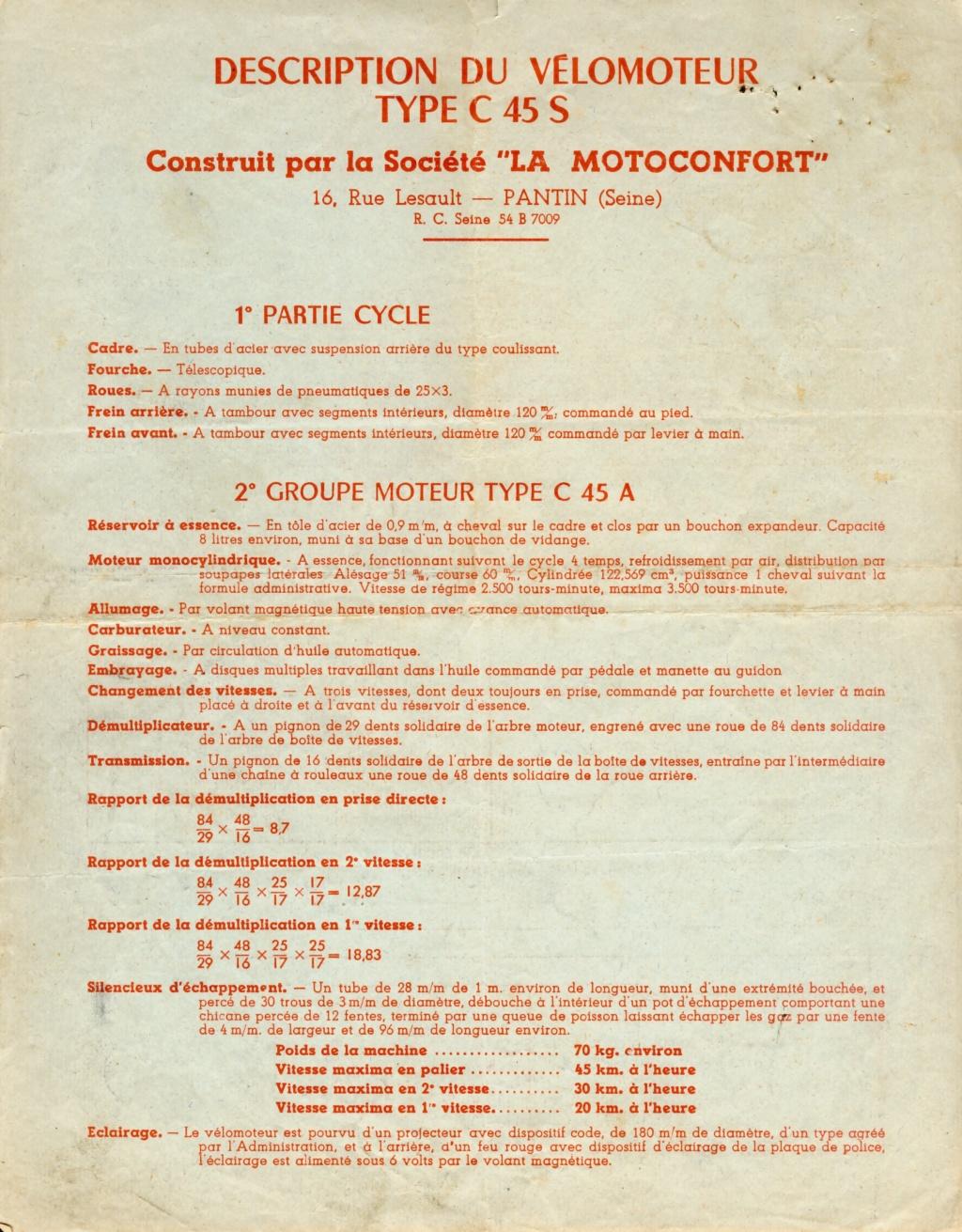 Monet Goyon S6V 125 1950  Feuill10
