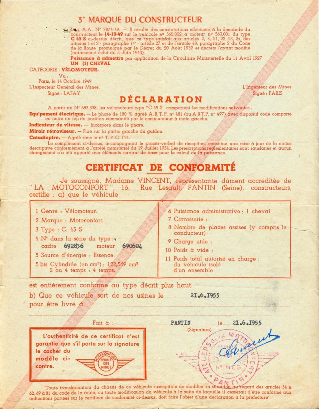 Monet Goyon S6V 125 1950  Feuill11