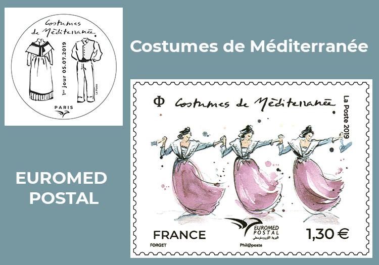 Euromed Postal 2019 : Costumes méditéranéens Costum11
