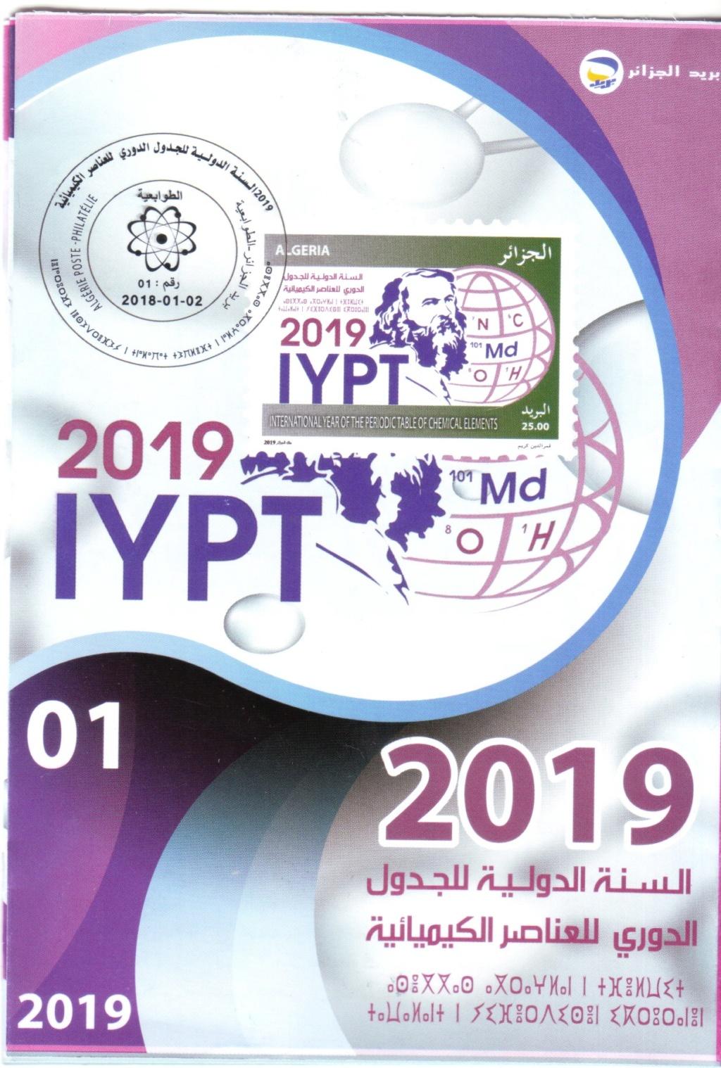 Émission 1/2019 :année internationale du tableau périodique des éléments chimiques Sans_t50